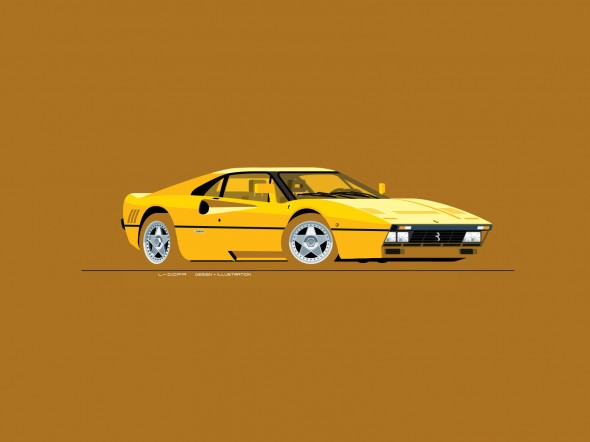 Ferrari 288 GTO, L-Dopa illustration