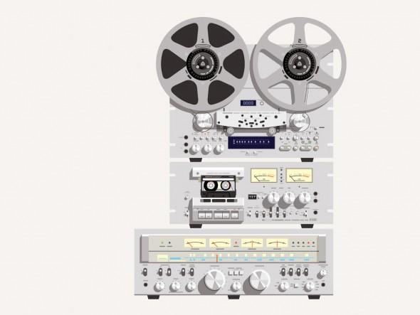 Vintage Stereo, via L-Dopa