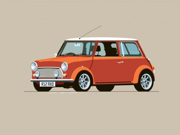 Classic Mini Cooper by L-Dopa